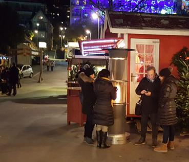 Edelsun au marché de Noël de Montreux