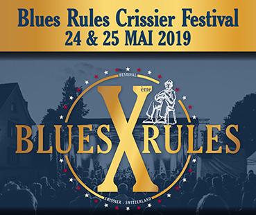 Edelsun au Blues Rules Crissier Festival 2019
